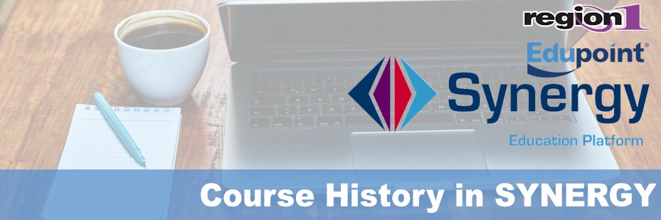 Course History in Synergy