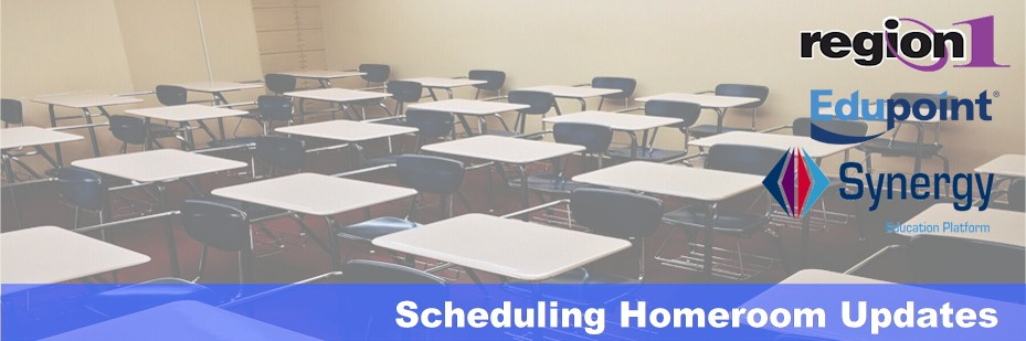 Scheduling Homeroom Updates