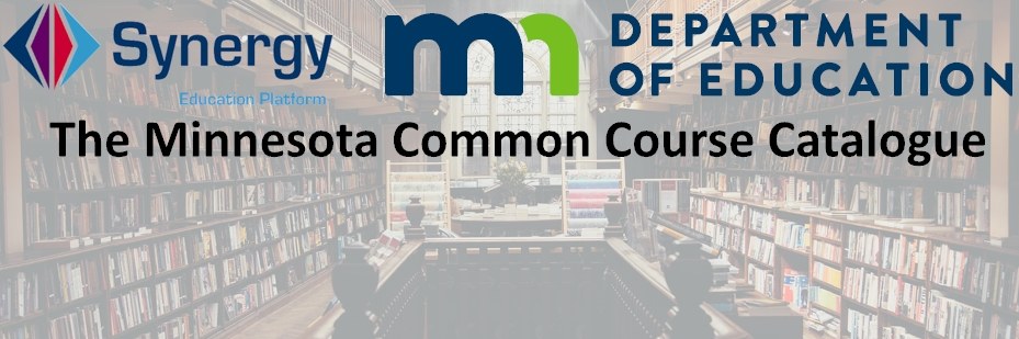 Minnesota Common Course Catalog (MCCC) 2017-2018 – Students