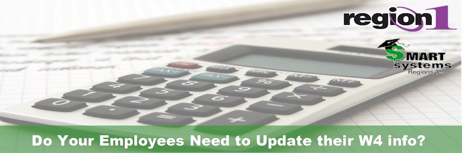 Do your employees need to update their W4 info?