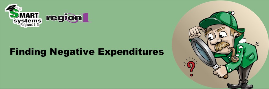 Finding Negative Expenditures